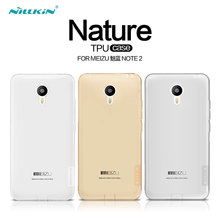 Meizu M2 Note Case Nillkin Nature Series Transparent Clear Soft TPU Case For Meizu M2 Note With Retailed Package