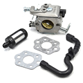 Walbro Carburetor Gas Fuel Line Pipe Gasket Kit For Stihl 017 018 MS170 MS180 MS 180