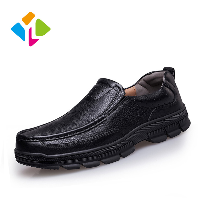 2015 New Men Genuine Leather shoes Dress shoes Formal Wear Hand Sewing Flats Men Classic Oxford Shoes