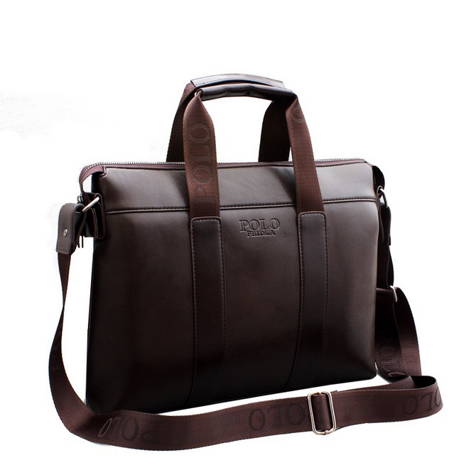 2015 Men Casual Briefcase Business Shoulder Genuine Composite Leather Travel Bag Men Messenger Bags Computer Laptop Handbag Bag(China (Mainland))