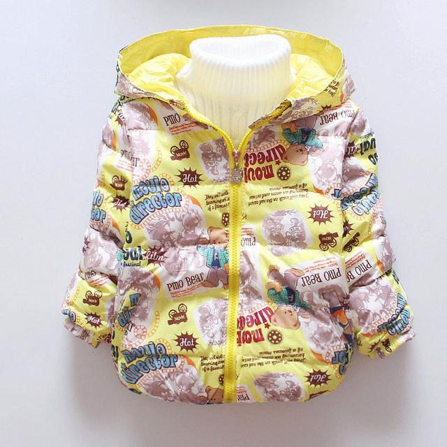 Мальчиков Зимние Пальто Мальчиков Зима Верхняя Одежда Детей Хлопка мягкой Куртки ...