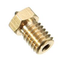 1pcs 3D printer For Makerbot MK7 MK8 Brass Nozzle 0.25mm/0.8mm/1mm/0.3mm/0.4mm For 1.75m Filament Reprap Copper Print Head