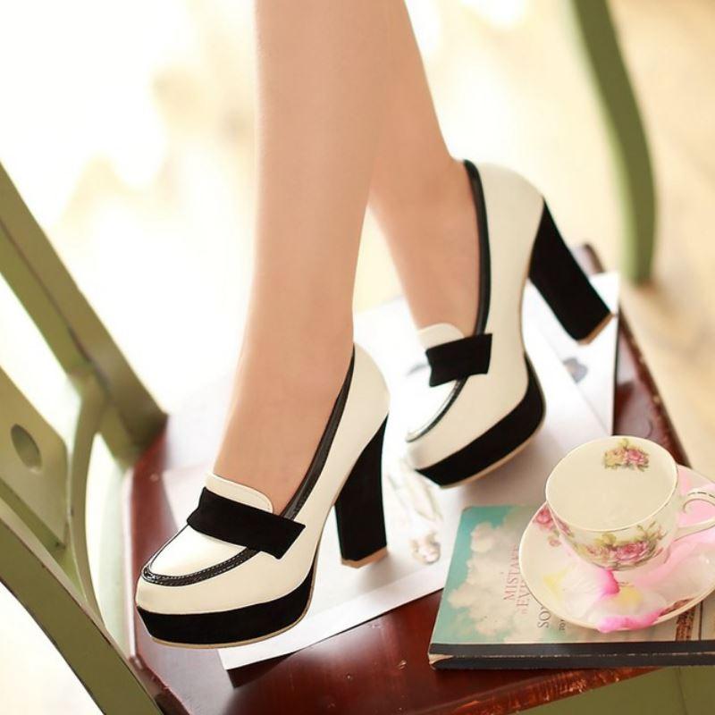 Senhoras sapatos de salto alto mulheres sexy vestido de calçados de moda senhora bombas de marca femininas P13025 venda quente EUR tamanho 34 – 43