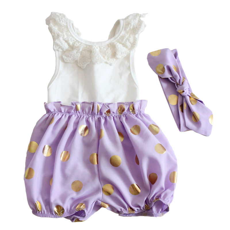 Cute new dots christmas halloween toddler girl clothing