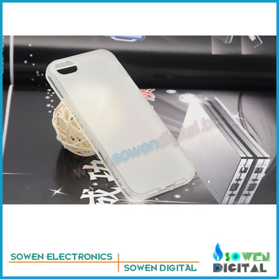 TPU Anti-glare matte transparent Case Anti-skid protection shell Cover for iPhone 5G protective casing+free shipping