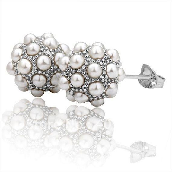 Pearl Stud Earrings Wholesale Pearl Stud Earrings 18k