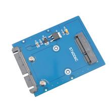 The New Slim Type Mini PCI-E mSATA SSD to 2.5″ SATA 3.0 22pin HDD Adapter Hard Disk PCBA SA-166