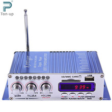 Hi-Fi Digital Car Stereo Power Amplifier Sound Mode Audio Music Player USB MP3 DVD CD FM SD for Motorcycle Home No Power Plug(China (Mainland))