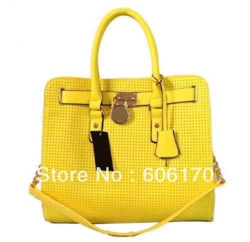 2013 New Design Fashion women's handbag brand shoulder bag high quality handbag free shipping # 415# 6color(China (Mainland))
