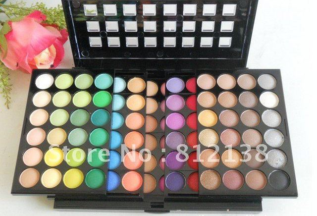 Free Shiping 5 Layer Design 96 Full Pigment Color Eyeshadow Makeup Eye Shadow Palette, Set #2, HOT SELLING, HS-A258