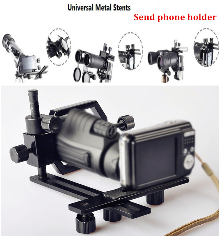 Datyson Universal Bracket/Telescopes Camera Photography Support Stand Holder For Digital Camera smart phone Connection Adapter(China (Mainland))