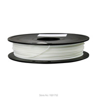 White Color 3D Printer Filaments ABS 1.75mm/0.5kg Plastic Rod Ribbon Consumables Material Refills For MakerBot/RepRap/UP/Mendel