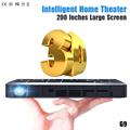 Long Life LED Full HD Home Cinema TV Projector 3D Multimedia Video Game Smart Dual WIFI