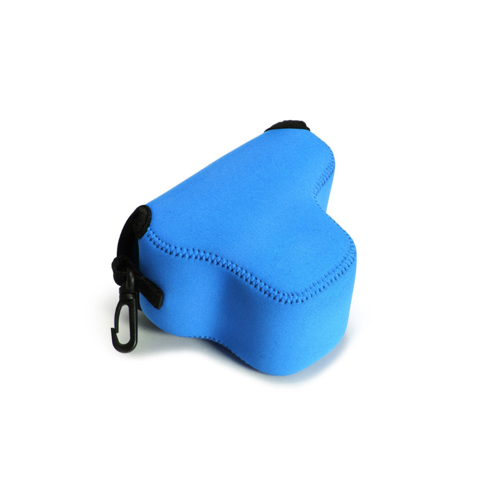 Blue Mini Neoprene Soft Camera Bag For Olympus EPL7 Waterproof Case Covers with Logo Free Shipping(China (Mainland))