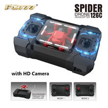 2016 FQ777-126C FQ777 126C MINI Drone with 2MP HD Camera RC quadcopter MODE1 & MODE2 switch headless4CH  6Axis Gyro VS FQ777-124(China (Mainland))