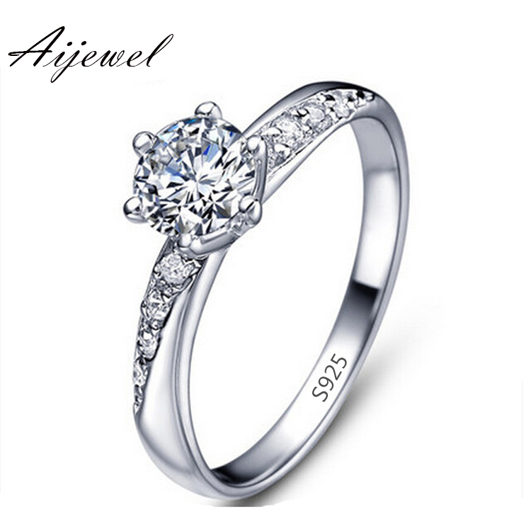 wedding ring Platinum plated classic engagement bague for women vintage simulate diamond jewelry accessories bijoux LSR061(China (Mainland))