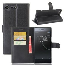 Buy Xperia XZ Premium Luxury Leather Flip Case Sony Xperia XZ Premium G8141 Smartphone Wallet Stand Cover Card Holder for $3.24 in AliExpress store