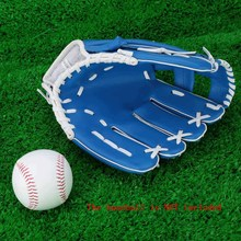 "Baseball Softball Glove 10.5"" Outdoor Baseball Practice Training Competition Team Sports Accessory Left Hand Color Blue(China (Mainland))"