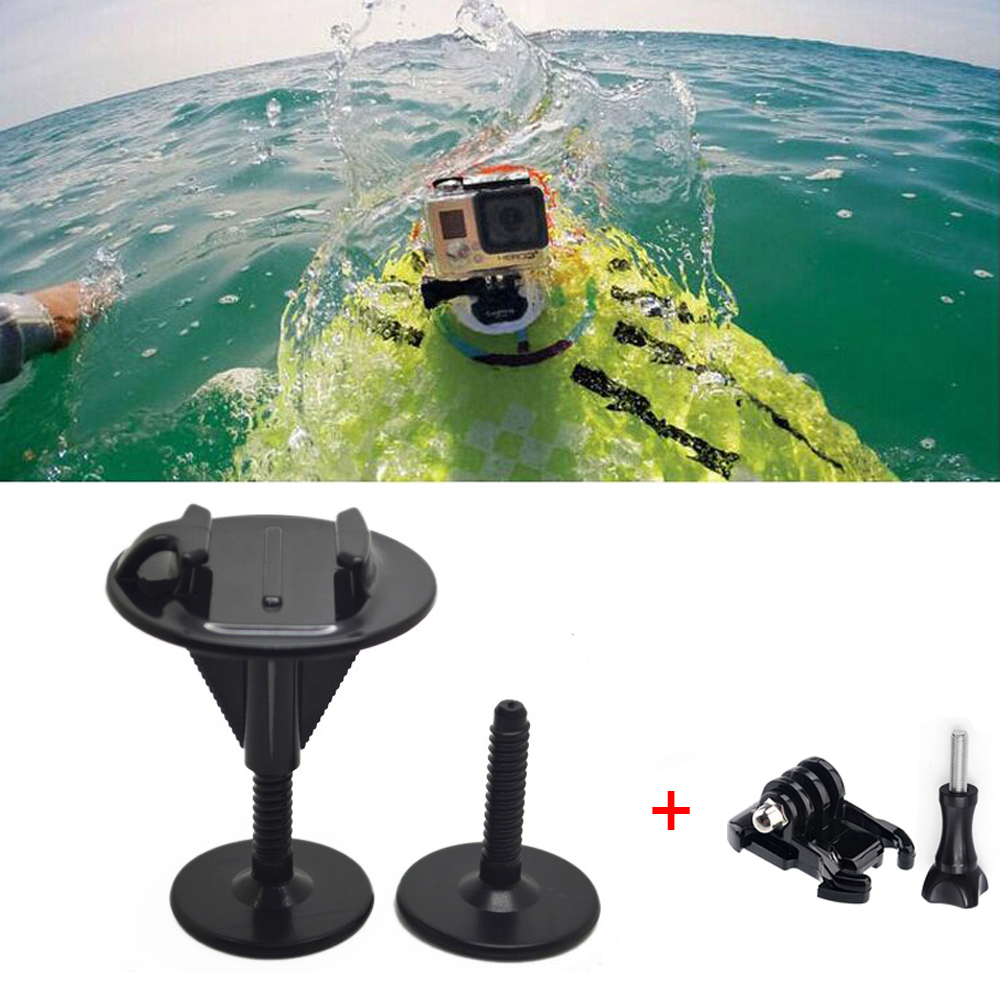 Bodyboard Stand up Paddle Foam Surfboard Bracket Mount For GoPro Hero4 session Hero 4 3+ 3 2 1 Camera(China (Mainland))