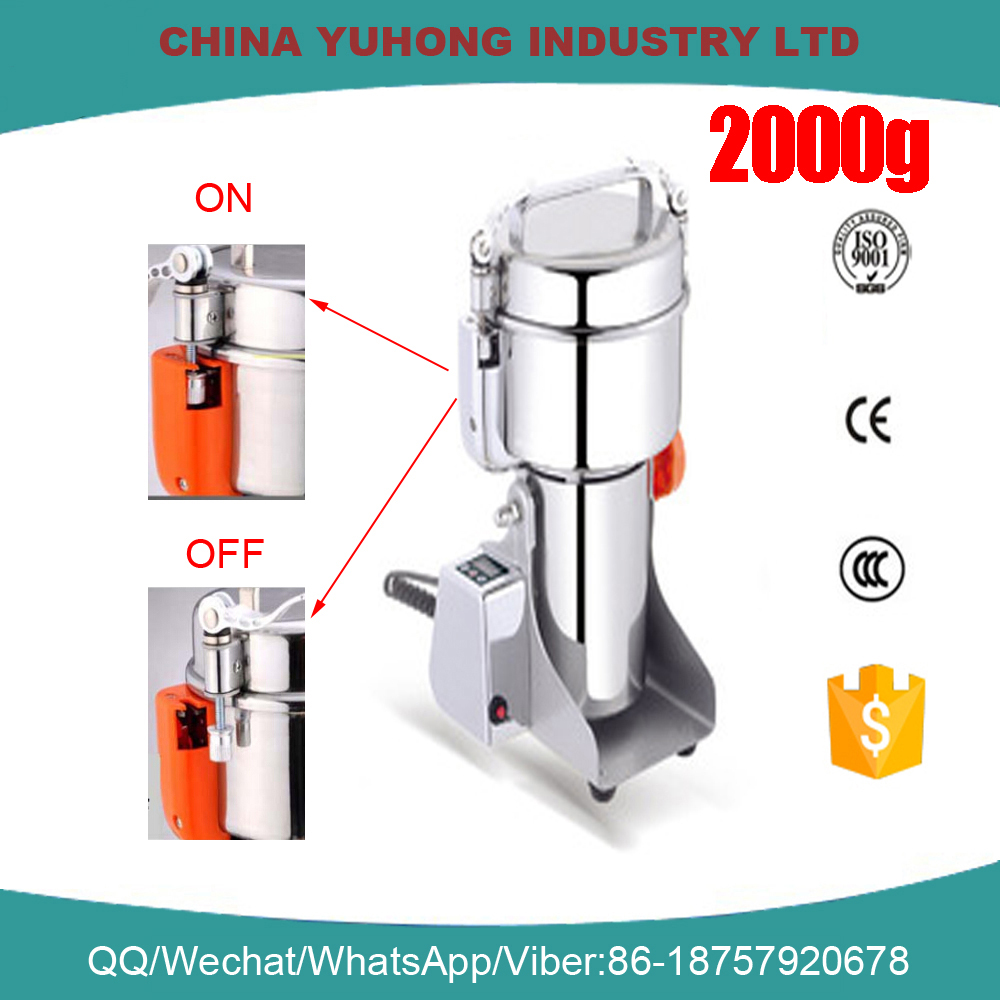 2000g(IC-40B)Swing Stainless Steel Herb Miller/Food mill//Chemical grinder /Pulverizer<br><br>Aliexpress