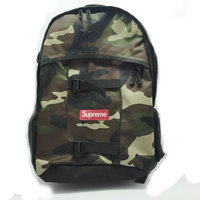 Supreme Backpack SS14 bilateral LOGO 36TH schoolbags backpack shoulder bag School Skate Board Both Side With Supreme Bags
