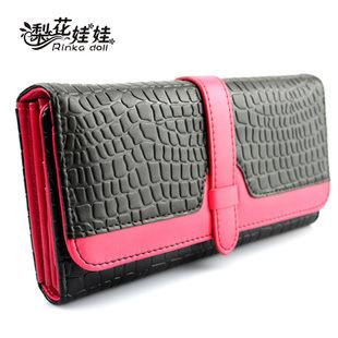 HOT ! Free Shipping new women wallets Stone Pattern long wallets Lady purse pocketbook JQ007(China (Mainland))