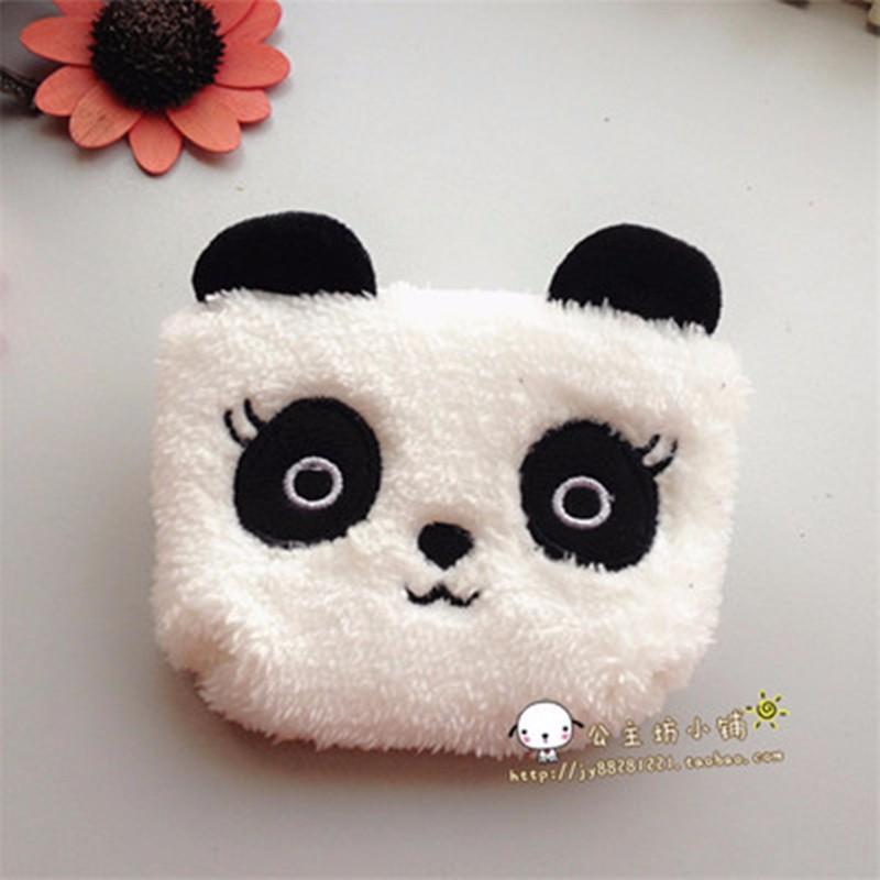 Монет симпатичные женщина чехол мешок панда девушки держатели кошельки кошелек мини-сумки маленький кошелек