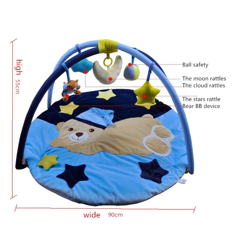 Скидки на Осень и зима новорожденного поставок ребенок подарок мужской подарок музыка игры одеяло игрушка