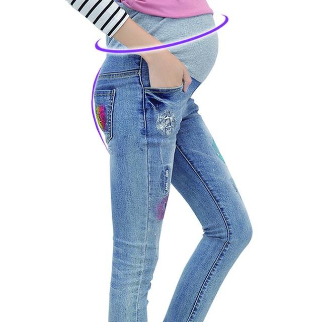 11 стилей для беременных джинсы беременности брюки одежды для беременных беременность ...