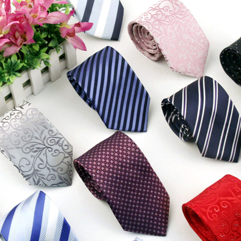 Brand Neck Tie Fashion Mens Casual Ties Stripe Silk Necktie Men Gravata - Belt boutique store