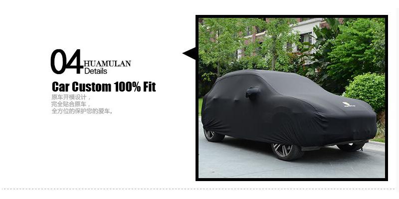 Audi Q5 5 Layer Waterproof Car Cover 2009 2010 2011 2012