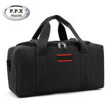 P.P.X Fashion brand Men Travel Bags Large Capacity 36-55L Women Luggage Duffle Bags Canvas Folding Bag For Trip Waterproof D38(China (Mainland))