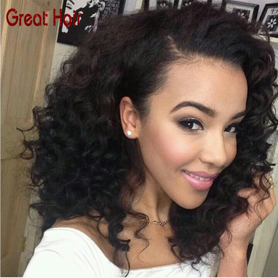 full lace human hair wigs Cheap Kinky Curly Wig Brazilian Virgin Afro Kinky Curly Wig For Black Women Human Hair Wigs For Sale