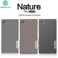 For Sony Xperia Z5 Compact Case Original Nillkin Nature Soft TPU Silicon Clear Cover For Sony Z5 Mini Phone Shell + Track Code