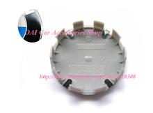 Car Wheel Cap E34 E36 E39 E46 E90 M3 M5 Blue 10Clips 36136783536 Wheel Center Hub Cap Cover Badge Emblem Top Quality 68MM 4pcs(China (Mainland))