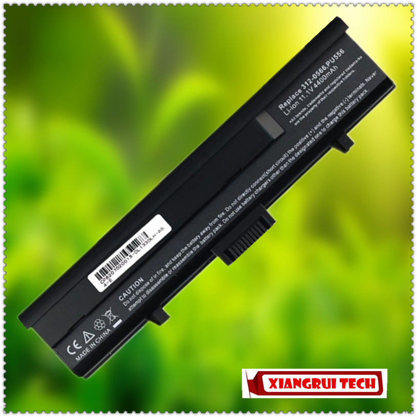 Replacement Laptop Battery For DELL XPS M1330 Inspiron 1318 312-0566 312-0567 312-0739 451-10473 CR036 PU556 PU563 TT485(China (Mainland))