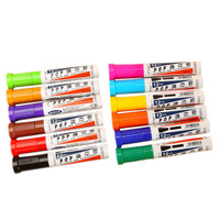 12 Colors/Box Colorful 12mm-Chisel-Tip Art Marker for Advertisement & Poster & Office Supply