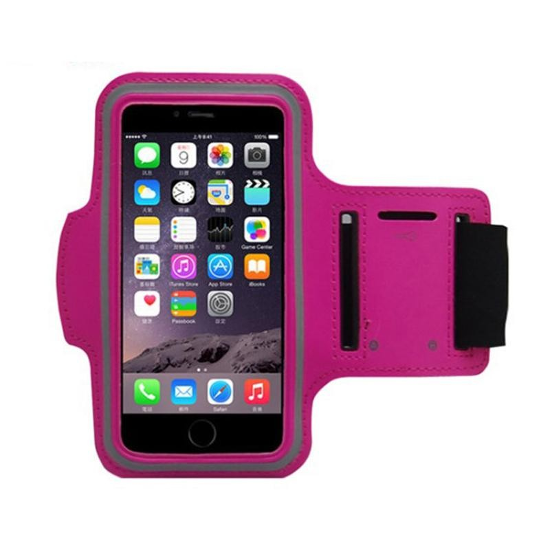 Sports Running Armband Cases Waterproof Arm Band Pouch Phone Case Cover with Key Holder for IPhone 5 5S 5C 5G 4 4S iPod Touch(China (Mainland))