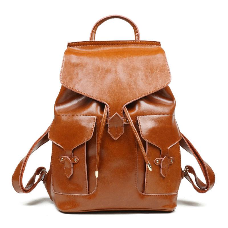Кожаный рюкзак на заказ сшить 1