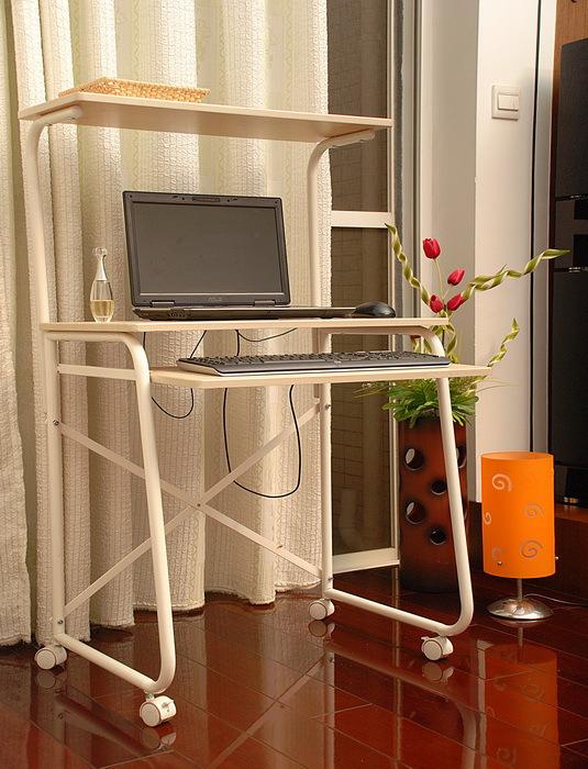 Yushu furniture wood furniture universal computer desk laptop table(China (Mainland))