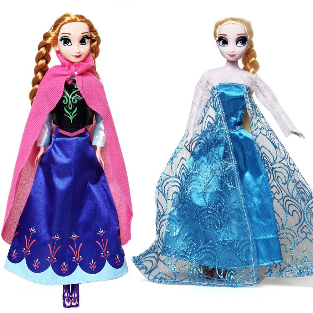 Princess Elsa Anna Dolls Baby Kids Toys for Girl Sharon Doll Brinquedos Free Shipping(China (Mainland))