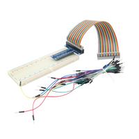 Hot sale 102 Solderless Prototype bread board 40 pin GPIO board GPIO dupont line 65 Flexible