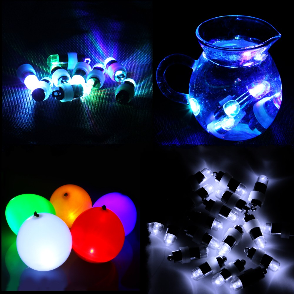 Christmas Mini led Party Lights for paper Lanterns LED Balloon lamp For Wedding birthday party decoration mariage 30pcs/lot(China (Mainland))