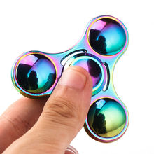 Buy Metal Spinner spinning Top EDC Finger cube Autism/ADHD Anxiety Stress Relief Focus fidget spinner hand spinners for $3.49 in AliExpress store