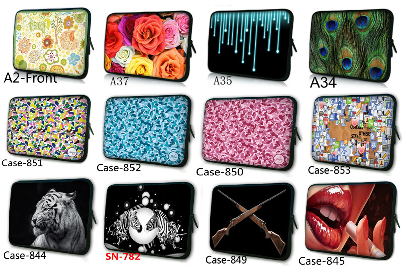 2014 Laptop Sleeve Bag Case Cover Pouch W/ Zipper For 7 7.9 8 8.1 8.2 Inch Mini Sony Dell HP Tablet PC Ebook MID Free Shipping(China (Mainland))