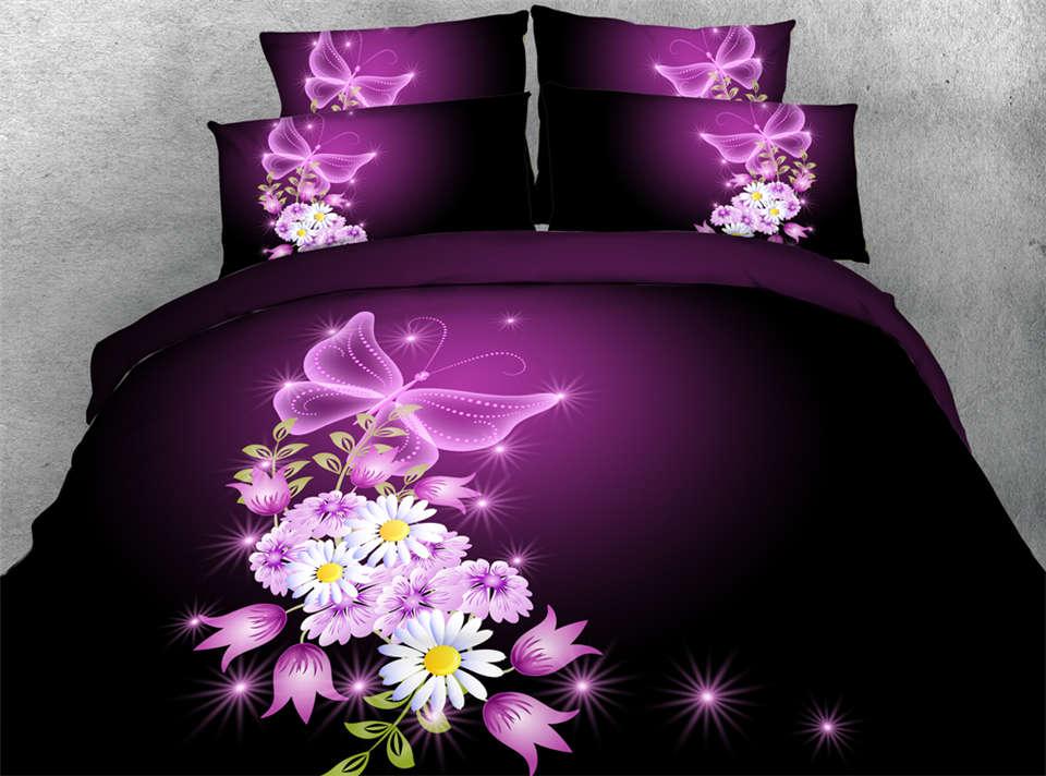 achetez en gros papillon linge de lit en ligne des grossistes papillon linge de lit chinois. Black Bedroom Furniture Sets. Home Design Ideas