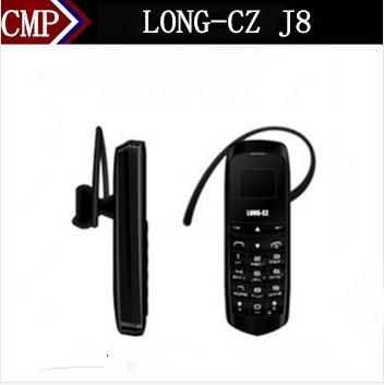 Original LONG-CZ J8 Bluetooth Mobile Phone Sim Card Bluetooth Dialer Bluetooth Earphone 3 In 1 FM Radio GSM Network BM50(China (Mainland))