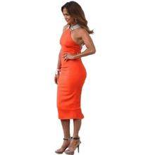 2015 New Trendy Clothes Women Dress Casual Colorblock Bodycon Pencil Vestidos Celebrity Women's Dresses vestiti donna Plus Size