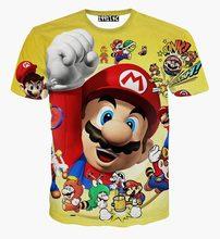 [Mccan] 2016 New style tshirt game cartoon 3d t-shirt for men/boy funny short sleeve t-shirt free shipping slim S-XXL TX308(China (Mainland))