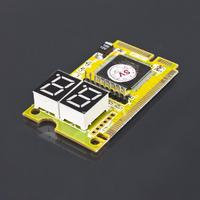 In stock! 1pc 3 in 1 Mini PCI-E LPC PC Analyzer Tester POST Card Test For Notebook Laptop Newest